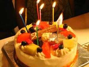 ケーキのオーダー