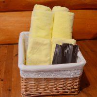 bath towel, wash cloth, toothbrush
