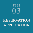 The reservation application