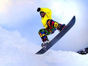 snow board & ski