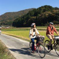外国人サイクリング
