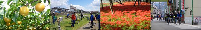 真庭サイクリング秋